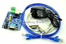 Evaluation Board Wifi to RS232 RS485 Module Support RTS/CTS with RJ45 Interface