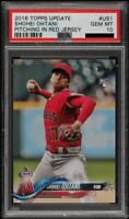 2018 Topps Update SHOHEI OHTANI Los Angeles Angels RC #US1 Rookie PSA 10