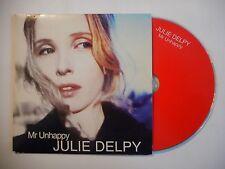 JULIE DELPY : MR UNHAPPY [ CD SINGLE PORT GRATUIT ]