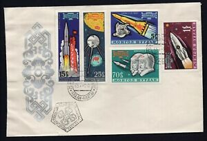 USSR 1964 cover from Mongolia , FDC, oversize R!R!R!