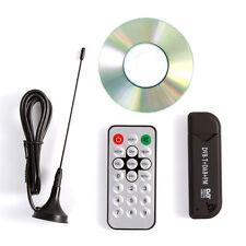 Mini Digital TV Stick Receiver Tuner USB DVB-T DAB FM Audio Video RTL2832U R820T