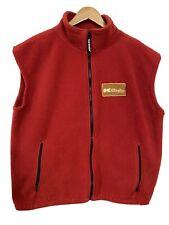 Vintage Mens XL Killington Vermont Red Fleece Ski Vest Resort Uniform?