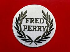 FRED PERRY TENNIS WIMBLEDON CHAMPION SPORTS CLOTHING EMBROIDERED PATCH UK SELLER