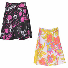 Unbranded Knee Length Floral Regular Size Skirts for Women