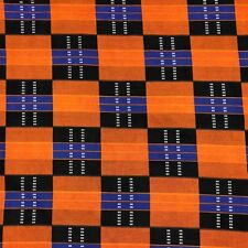 African Print Fabric 100% Cotton 44'' wide sold by the yard (90198-1)