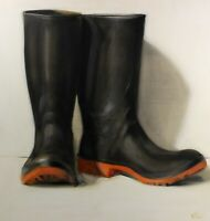Pair of green Wellies | original oil on board by Dorion Scott | canadian artist