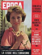 RIVISTA EPOCA N° 397 DEL 1958 SOPHIA LOREN