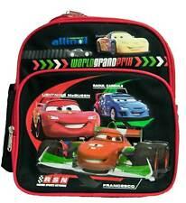 Disney Cars 2 Grand Prix Toddler McQueen Backpack Bag