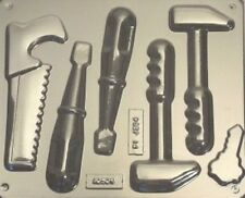 CARPENTERS TOOLS CHOCOLATE, LOLLIPOP MOULD, SOAP, CLAY, MOULD / MOULDS