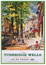 209 Vintage Railway Art Poster - Tunbridge Wells