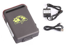 Véhicule GPS Traqueur tk102B Quad band gps gsm tracker with Hard-wired Charger