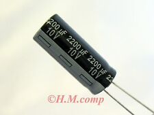 10V 2200uF 105°C Low Impedance Capacitor X 2pcs