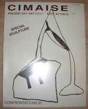 CIMAISE ARTS ACTUELS n°215 1991 SPECIAL SCULPTURE CONFRONTATIONS 91