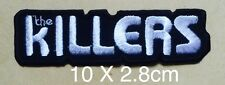2052 THE KILLERS Iron On Sew On Patch Rock Band music punk embroidered badge