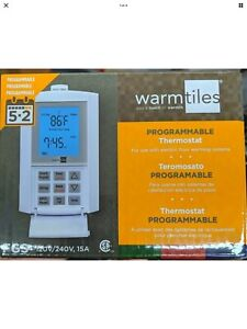 Emerson Warmtiles FGS Programmable Thermostat Dual Voltage 120V/240V 15A - New!!