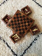 Handmade Mahogany Chess Board