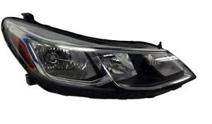 fits 2017 2020 Chevrolet Sonic Sedan Right Passenger Headlamp Halogen w LED