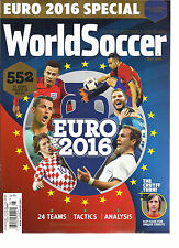 WORLD SOCCER,  MAY,2016  ( GLOBAL FOOTBALL SINCE 1960 )  EURO 2016 SPECIAL