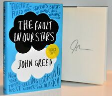 The Fault in Our Stars AUTOGRAPHED JOHN GREEN  (SIGNED 1st Print/Ed)