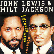 JOHN LEWIS & MILT JACKSON WITH MODERN JAZZ QUARTET (JAZZ CD COMPILATION)