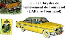 Chrysler Car L'Affaire Tournesol  1/24 car New box diecast model booklet Tintin