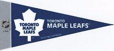 NHL Mini Pennant Collection Decor 4''X9'' Banner Flag Toronto Maple Leafs Team