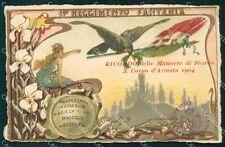 Militari Reggimentali 11º Reggimento Fanteria 1904 cartolina XF4399