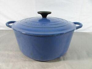 Le Creuset 4.5qt Blue Round Dutch Oven