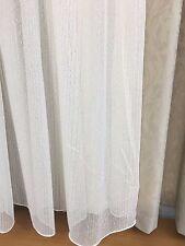 6.7 m JAVA Sheer Curtain -MAGNOLIA  Boucle -221 cm drop Rod Pocket-Ready to Hang
