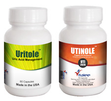Combo-B- Urinary Tract Infection & Uric Acid Removal  (Capsule 60ct x2)