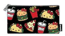 Hello Kitty Snacks Loungefly Nylon Pouch Purse Coin Bag New w/ tags New