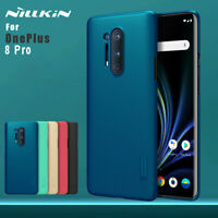 For OnePlus 8 Pro NILLKIN Super Frosted Shield Hard Back Fashion Case Cover