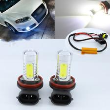 2 H11 CREE LED Projector Fog Light DRL 11W No Error Audi A3 A4 A5 S5 A6 Q5 Q7 TT