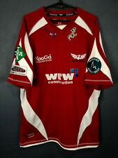 MENS RED KOOGA SCARLETS 2008/2009 HOME RUGBY UNION SHIRT JERSEY CAMISETA SIZE XL