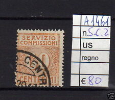 FRANCOBOLLI ITALIA REGNO USATI S.C. N°2 (A1461)