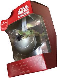 "Hallmark 🌟 ""The Child Baby Yoda"" Christmas Ornament 💥 🎁 🥰 - Mandalorian 👶"