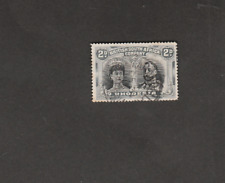 BRIT SOUTH AFRICA CO RHODESIA 1910 GEORGE 2d BLACK GREY USED SG# 171a CV 32