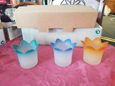 Partylite Jewel Tealight - Votive Candle Holders New/Old Stock Retired P7161