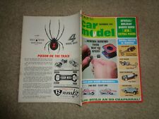 Car Model Magazine December 1965 Russkit and Slot Cars - Used
