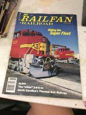 RAILFAN & RAILROAD TRAIN MAGAZINE June 1991