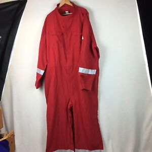 Men's Weatherford Bulwark Fire Flame Resistant Oil Coveralls Uniform 64-LN