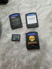Sony PlayStation Vita Handheld System - Black (22031)great condition 8gb card