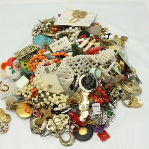 Jewelry Mixed Lot Repair Crafts Some Wearable Over 7 lbs Lot A