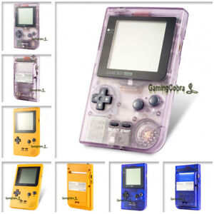 Limited Full Housing Shell Buttons Mod Repair for Nintendo Game Boy Pocket GBP