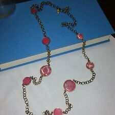 Tone Pink stones Charming Charlie Gold
