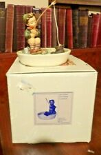 "New ListingGoebel Hummel Figurine #373 ""Just Fishing"" Tmk-6 1984, Made in W Germany in Box"