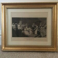 """Antique 1887 Print of The Marriage of the Princess Royal. From """"The Queen's Pict"""