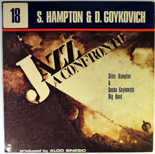 Slide Hampton & Dusko Goykovich Big Band-Jazz A Confronto-Horo Stereo Lp