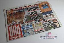 BILDzeitung 27.06.2001 Juni München Bayern 20. 21. 22. Geburtstag Geschenk MB
