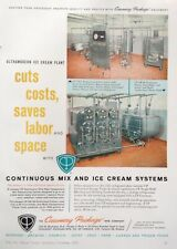 1960 AD(XE18)~CREAMERY PACKAGE MFG. CO. CHICAGO. ICE CREAM SYSTEMS